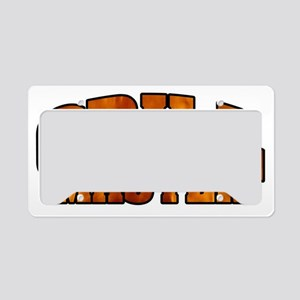 Grill Master License Plate Holder