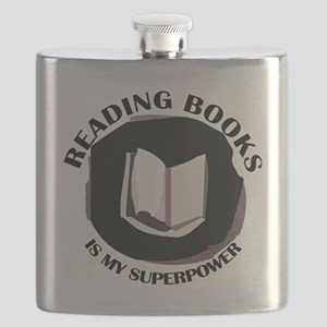 reading books is my superpower Flask