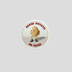 baked potato Mini Button
