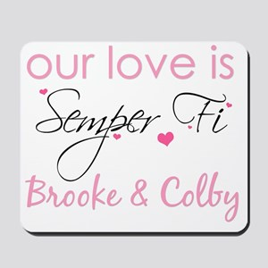 Brooke Neely Custom Order 2 Mousepad