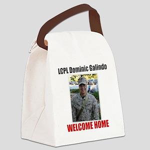 Amanda Clark Custom Order Change  Canvas Lunch Bag
