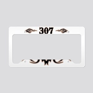 Cheyenne 307 License Plate Holder