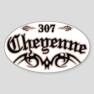 Cheyenne 307 Sticker (Oval)