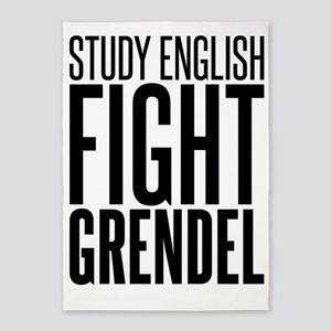 English grendel 5'x7'Area Rug