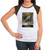Cades cove Women's Cap Sleeve T-Shirt