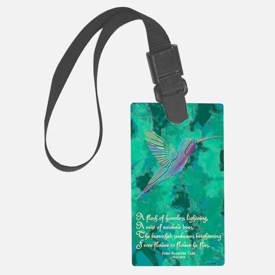 Humming Bird journal Luggage Tag