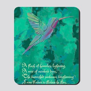 Humming Bird journal Mousepad