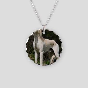 Saluki 9Y644D-026 Necklace Circle Charm