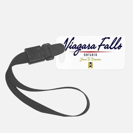 Niagara Falls Script W Luggage Tag