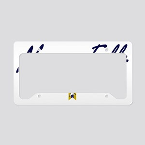 Niagara Falls Script W License Plate Holder