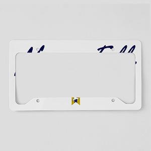 Niagara Falls Script W License Plate Holder