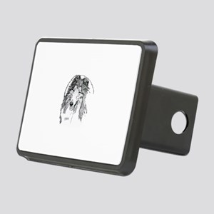 Rough Collie sable Hitch Cover