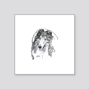 Rough Collie sable Sticker