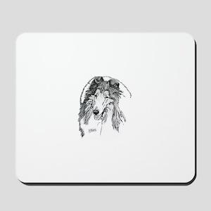Rough Collie sable Mousepad