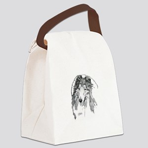 Rough Collie sable Canvas Lunch Bag