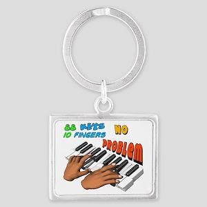 Pianist Landscape Keychain