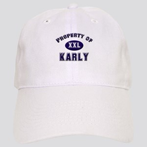 Property of karly Cap