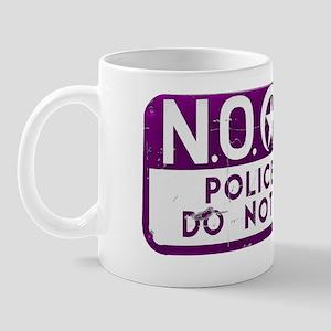 NOPD SIGN purple zazzle Mug