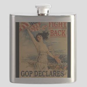 fight back cafe press Flask