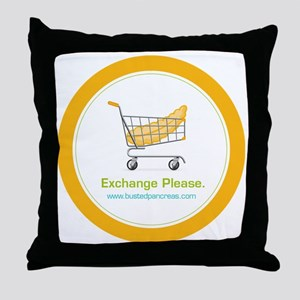 exchange_please_022011 Throw Pillow