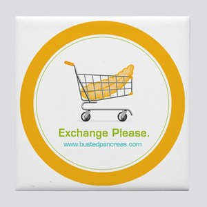 exchange_please_022011 Tile Coaster