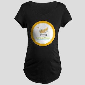 exchange_please_022011 Maternity Dark T-Shirt