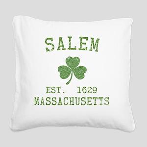 salem-ma Square Canvas Pillow