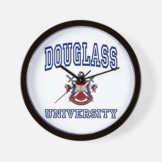 DOUGLASS University Wall Clock