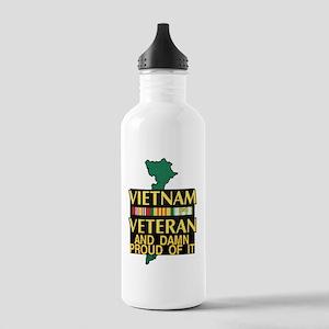 PROUD VIET VET Stainless Water Bottle 1.0L