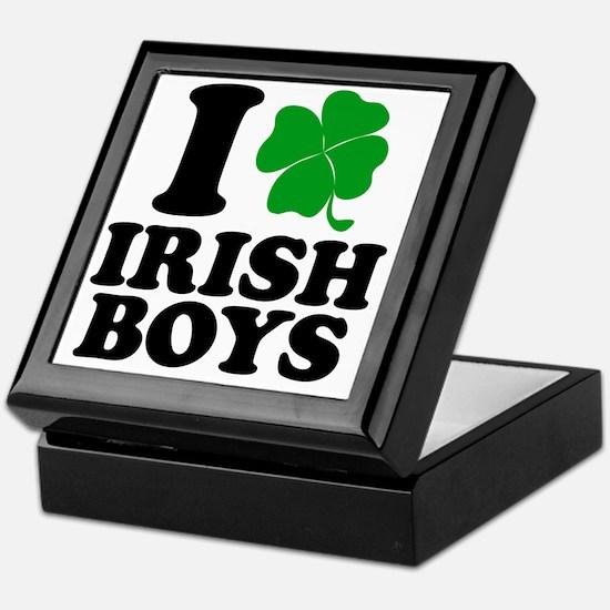 Irish Boys Keepsake Box