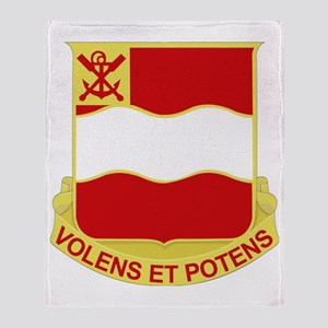 DUI-4TH ENGINEER BATTALION Throw Blanket