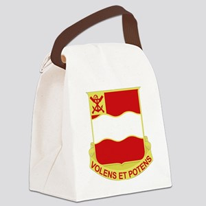 DUI-4TH ENGINEER BATTALION Canvas Lunch Bag