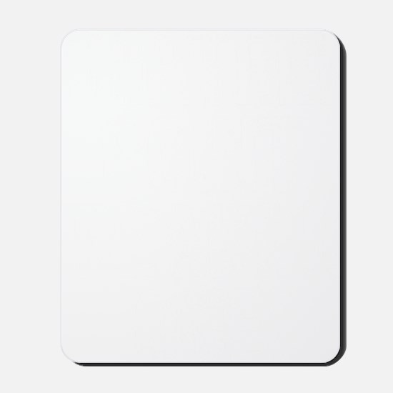 thirteen point freaking one white Mousepad