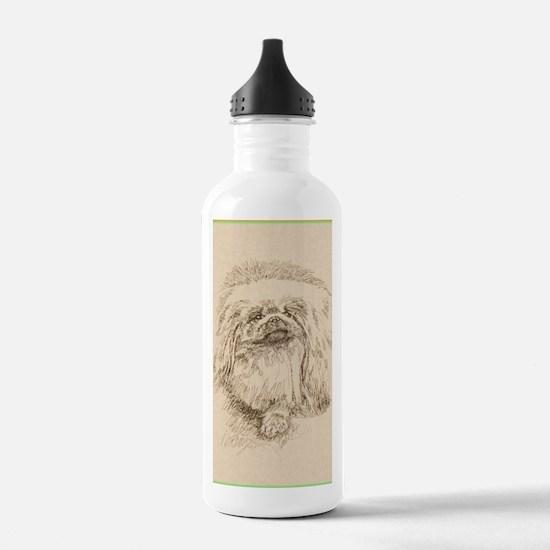 Pekingese_KlineSq Water Bottle