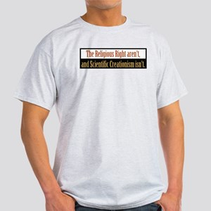 The Religious Right aren't Ash Grey T-Shirt
