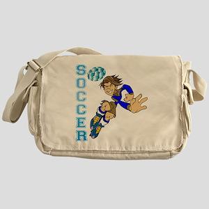 Soccer Player Messenger Bag
