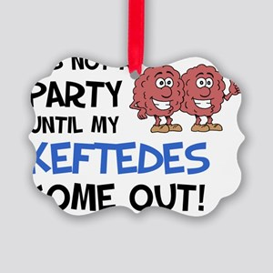 Party Keftedes Come Out Picture Ornament