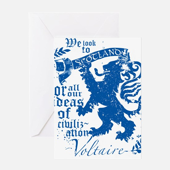 Voltaire Greeting Card