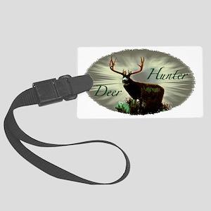 Deer Hunter Large Luggage Tag