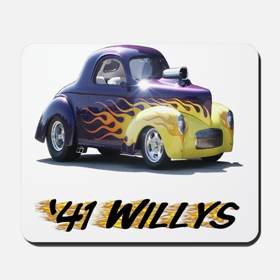 41-Willys Mousepad