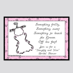 Frilly (ready to go) Postcards (Pk of 8)