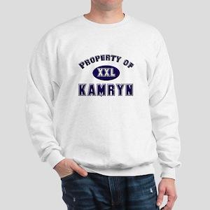 Property of kamryn Sweatshirt
