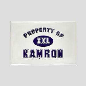 Property of kamron Rectangle Magnet