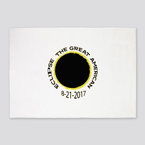 The Great American Eclipse 5'x7'Area Rug