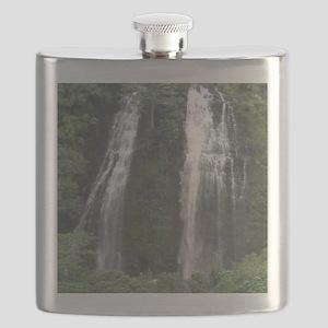Opaekaa Falls on Kauai Flask