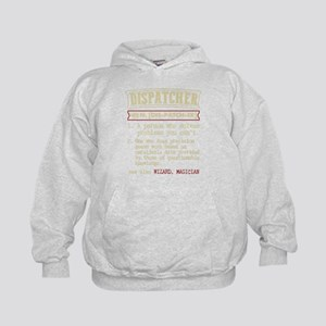 Dispatcher Funny Dictionary Term Sweatshirt