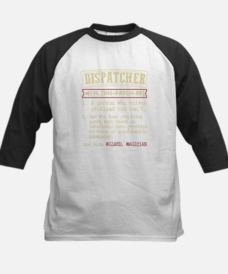 Dispatcher Funny Dictionary Term Baseball Jersey