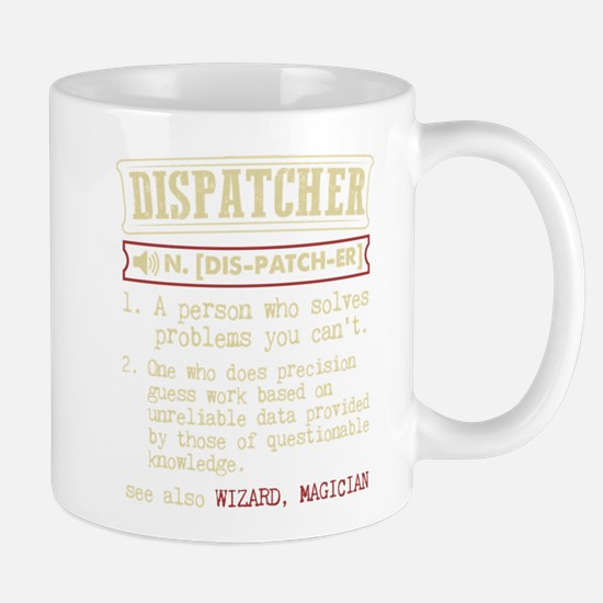 Dispatcher Funny Dictionary Term Mugs