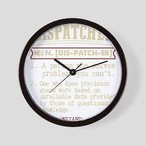 Dispatcher Funny Dictionary Term Wall Clock