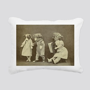 music Rectangular Canvas Pillow